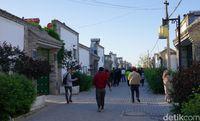 Menyusuri jalanan Perkampungan Muslim Suku Hui (Wahyu/detikTravel)