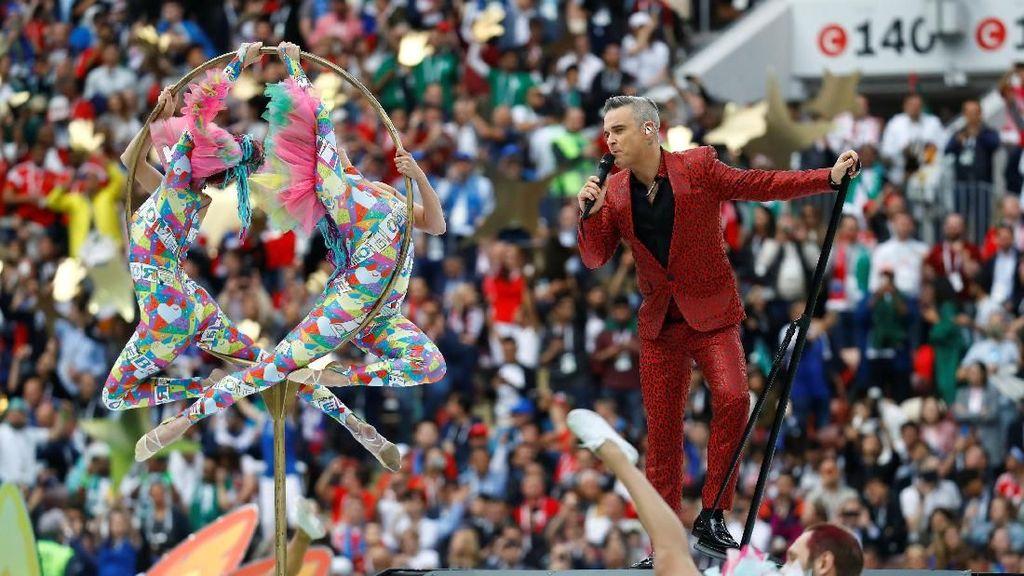 Kemeriahan Pembukaan Piala Dunia 2018