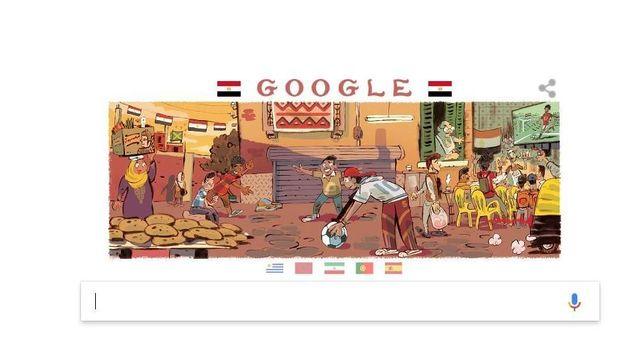 Google Doodle Buat Ilustrasi 32 Negara Peserta Piala Dunia