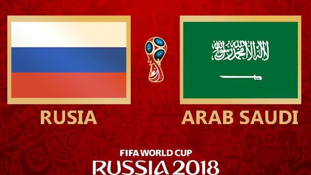 Video Highlights Rusia Vs Arab Saudi