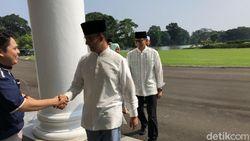 Heboh Anies Disoraki di Open House Jokowi Merambat ke Pilgub DKI