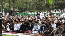 Khatib di Salat Id Jokowi Bicara Alquran sebagai Pegangan Hidup