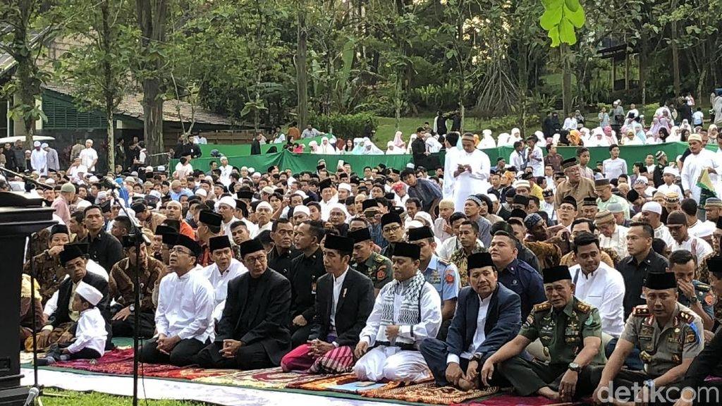Idul Fitri, Jokowi: Mari Mempererat Persatuan dan Kesatuan Bangsa