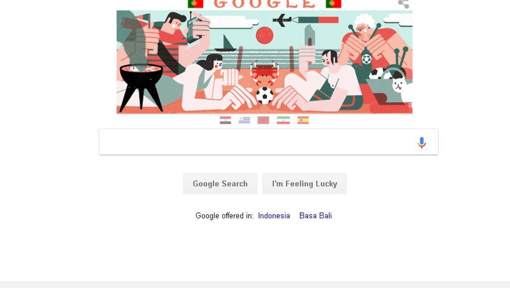 Euforia Piala Dunia, Google Doodle Munculkan 6 Ilustrasi