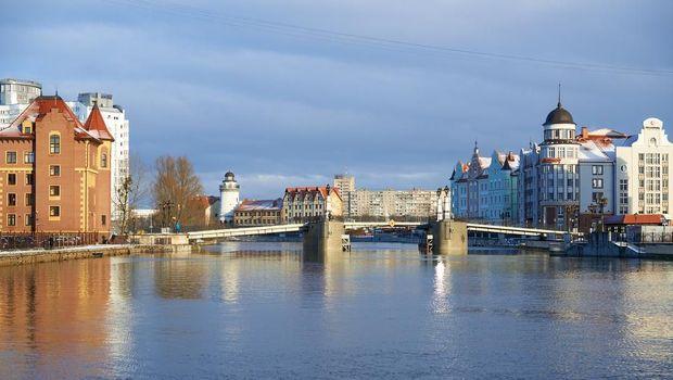 Salah satu sudut Kota Kaliningrad