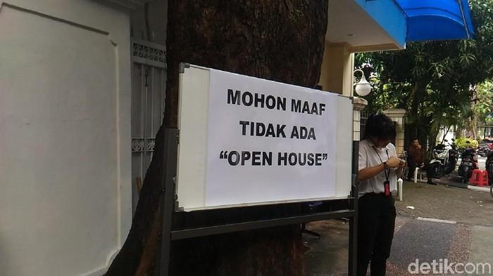 Open house di rumah Megawati