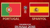 Highlight Babak I Portugal Vs Spanyol