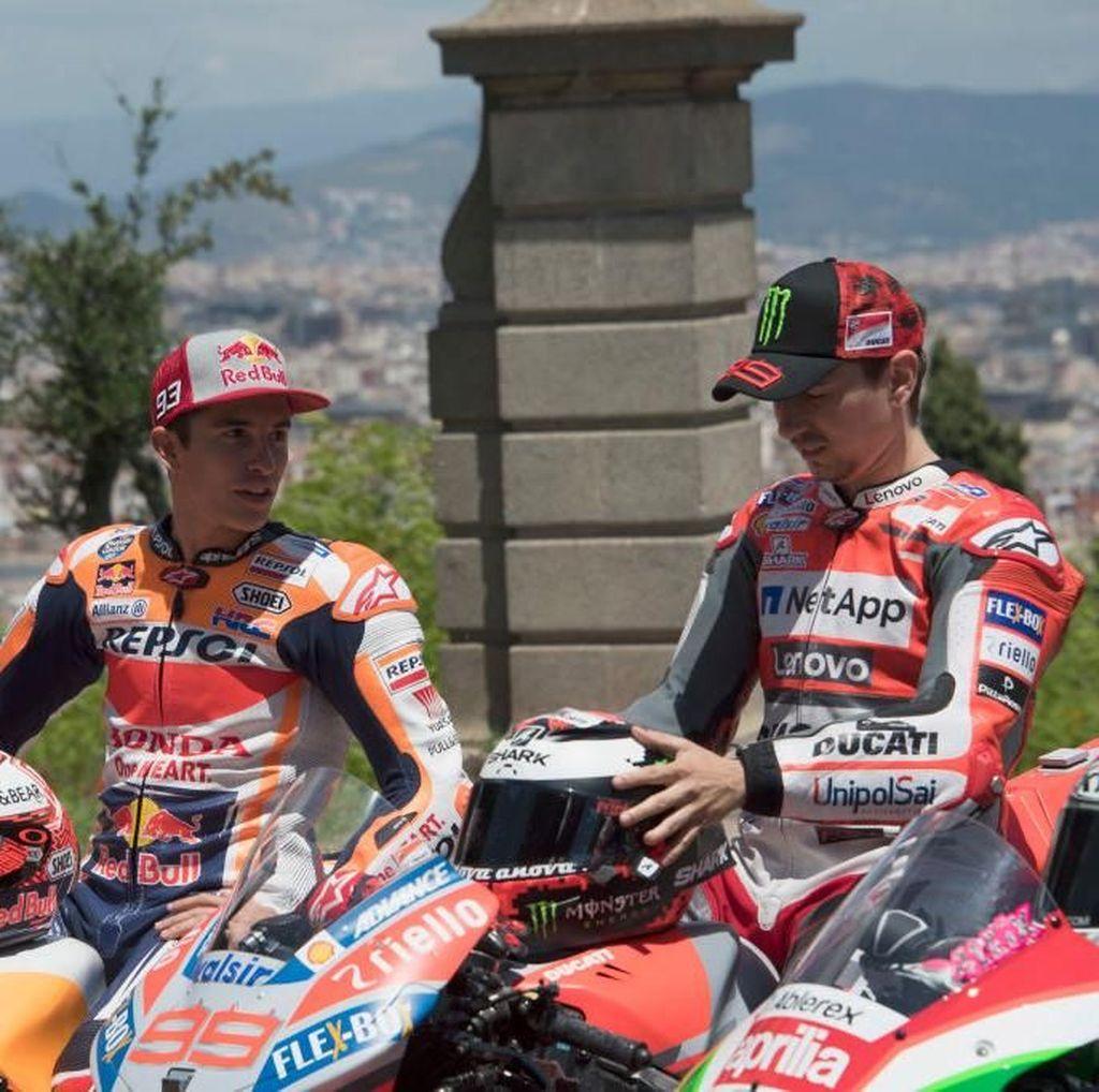 Akan Jadi Rekan Setim, Marquez Bakal Banyak Belajar dari Lorenzo