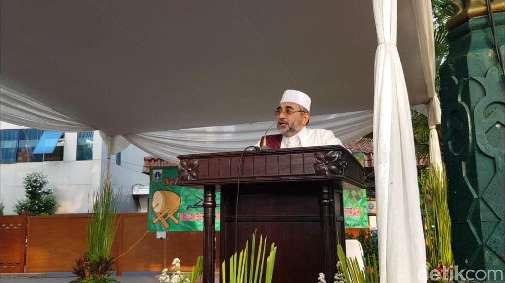 Khatib di Balai Kota Doakan Jakarta Kembali Fitrah, Iman dan Islam