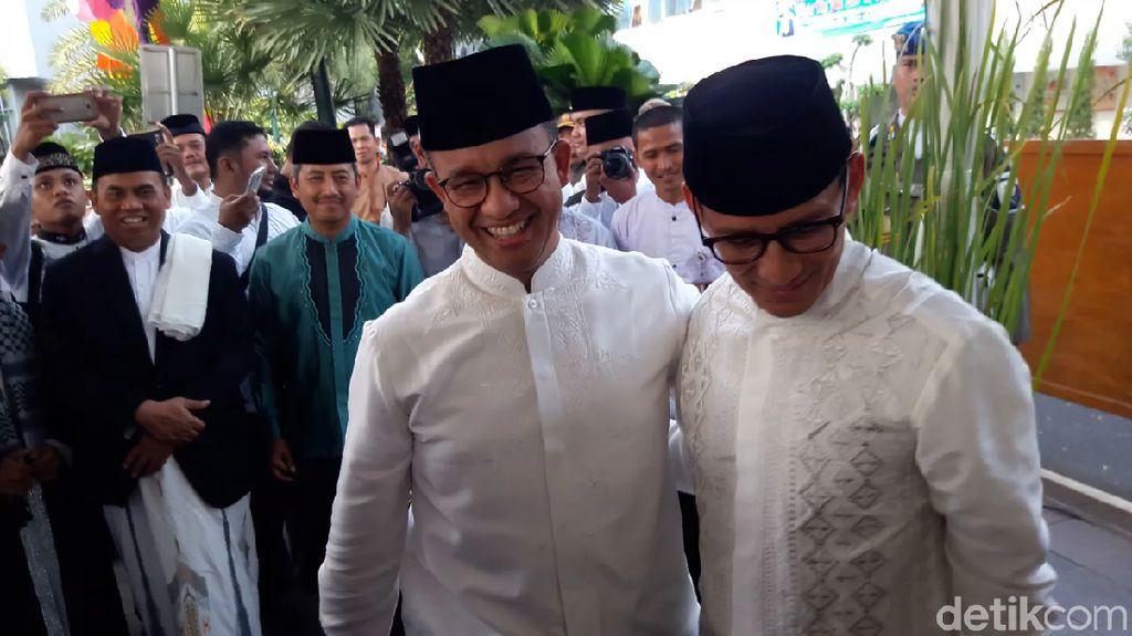 Anies-Sandi akan ke Open House Jokowi di Istana Bogor