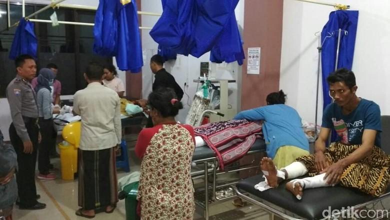 Racik Petasan dan Meledak, 5 Orang di Situbondo Alami Luka Bakar