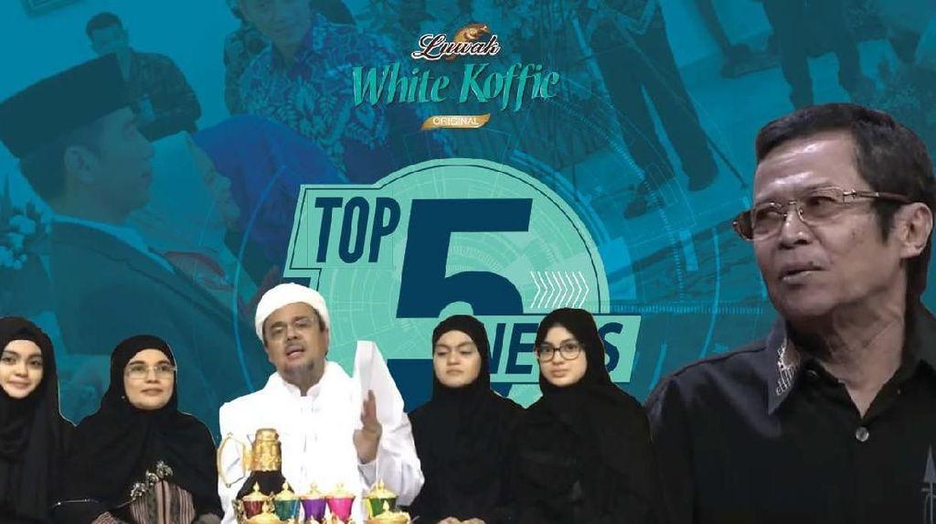 Habib Rizieq Ngaku Terima SP3, Nurbuat Srimulat Meninggal