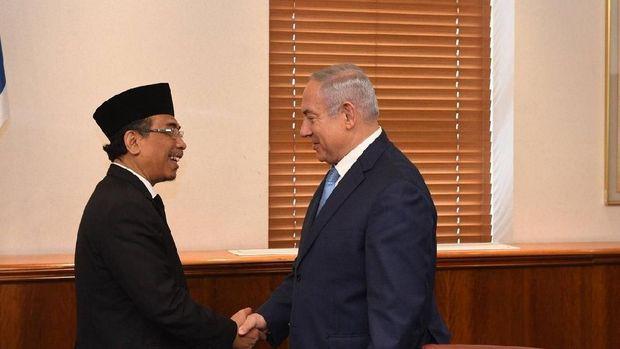 Bertemu Yahya Staquf, PM Israel Senang Banyak Negara Muslim Mendekat