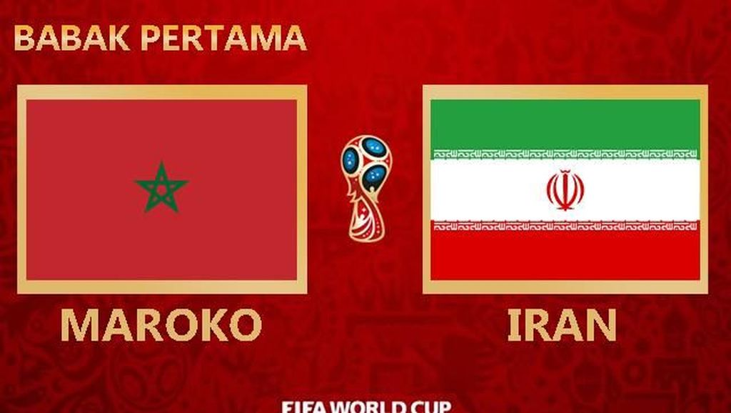 Highlight Babak I Maroko Vs Iran