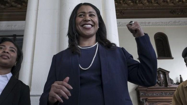 Pertama Kali, San Fransisco Dipimpin Wali Kota Perempuan Kulit Hitam