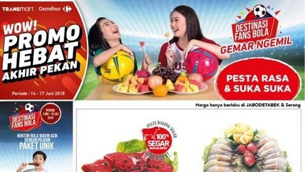 Lebaran, Promo Produk Segar Hadir Lebih Lama di Transmart Carrefour