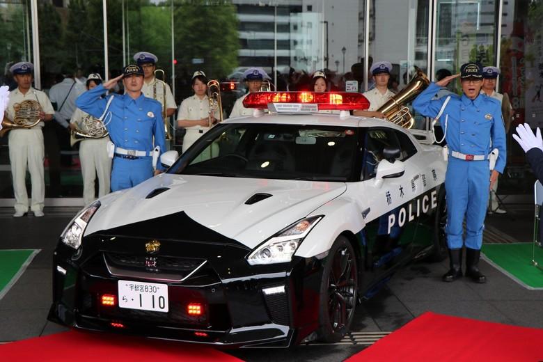 Nissan GT-R untuk polisi Tochigi (Foto: Carscoops)