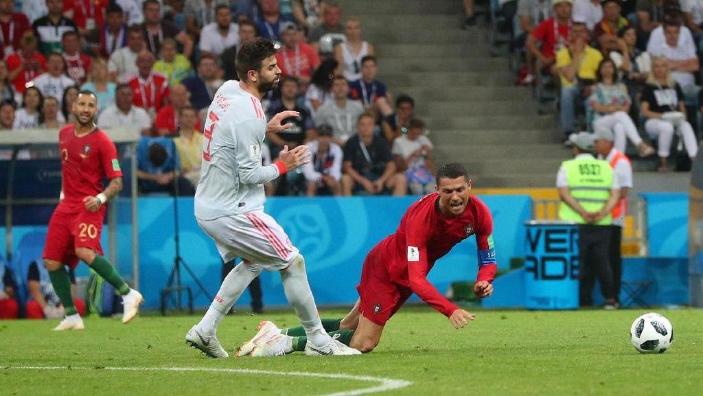 Pique: Ronaldo Kebiasaan Diving