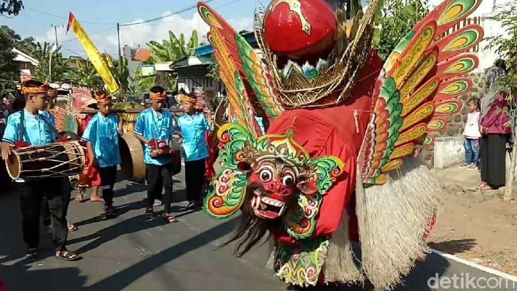Istimewanya Festival Barong Ider Bumi di Banyuwangi