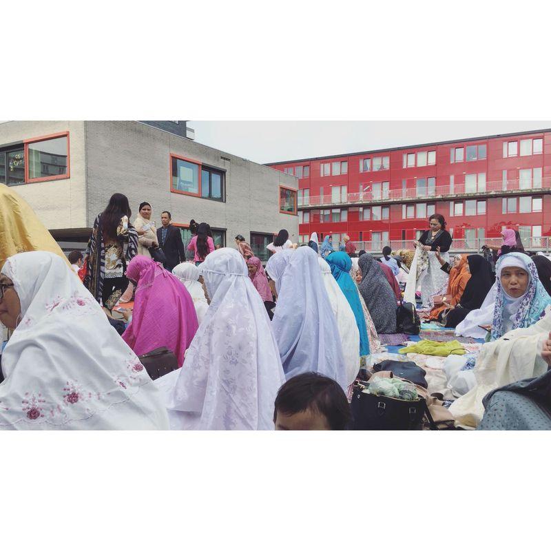 Di Belanda, beberapa WNI Muslim juga menjalankan ibadah Puasa dan hari raya Idultri. Salah satunya adalah Pita, seorang WNI yang menetap di Amsterdam (Istimewa/Puspita)