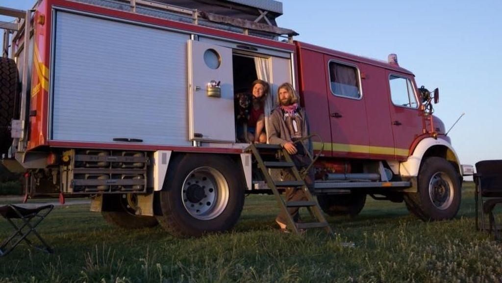 Dipermak Rp 413 Juta, Mobil Pemadam Kebakaran Ini Jadi Rumah
