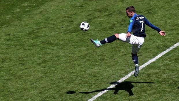 Antoine Griezmann diandalkan bisa cetak gol lawan Peru.