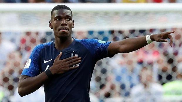 Paul Pogba jadi salah satu andalan timnas Prancis di Piala Dunia 2018.