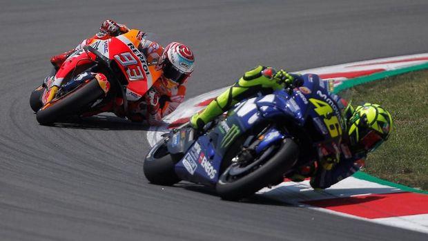 Valentino Rossi punya karier panjang di MotoGP.