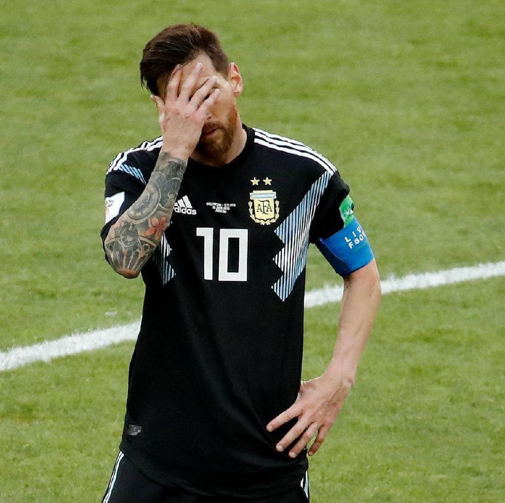 Messi Tahu Arti Kegagalan Penaltinya