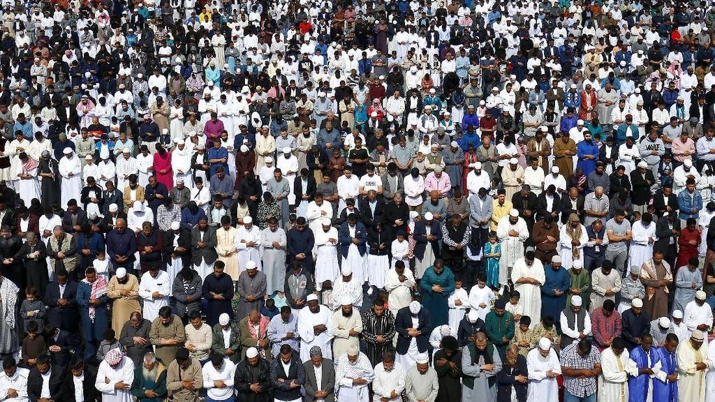 Potret Perayaan Idul Fitri di Inggris Hingga AS