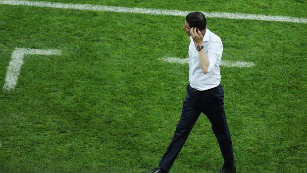 Fernando Hierro meraih hasil imbang dalam debutnya sebagai pelatih timnas Spanyol.