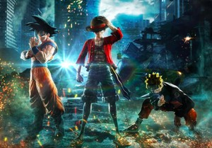 Son Goku dan Naruto Tarung di Game Jump Force