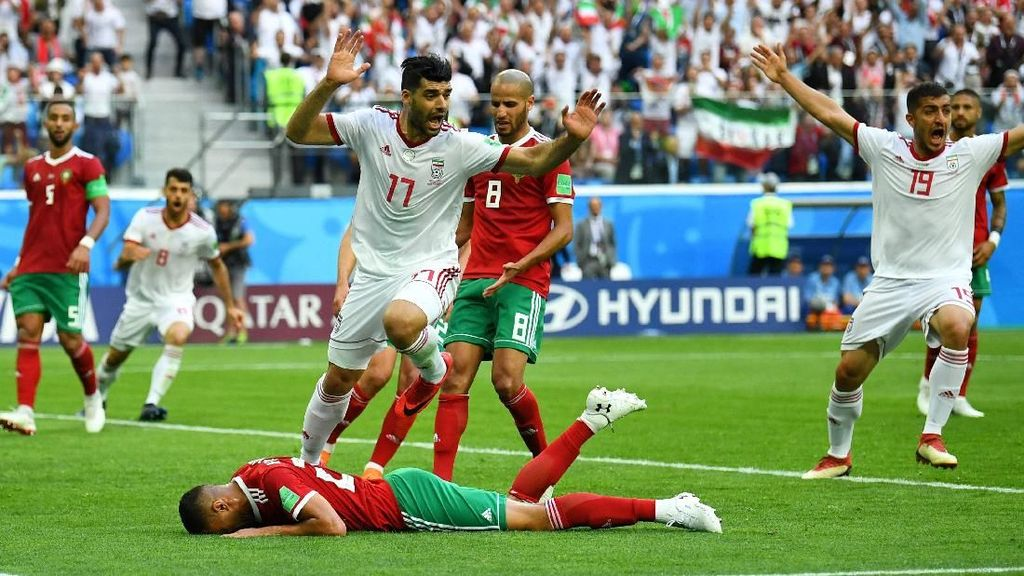 Gol Bunuh Diri Menangkan Iran atas Maroko