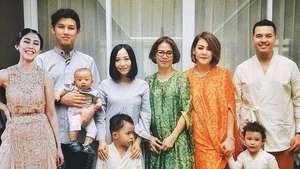 Mesranya Dewi Sandra dan Suami di Pernikahan Rinni-Jevin Julian