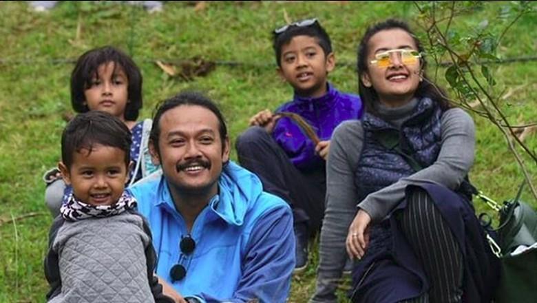 Mengintip kelucuan keluarga Sasono/Foto: instagram