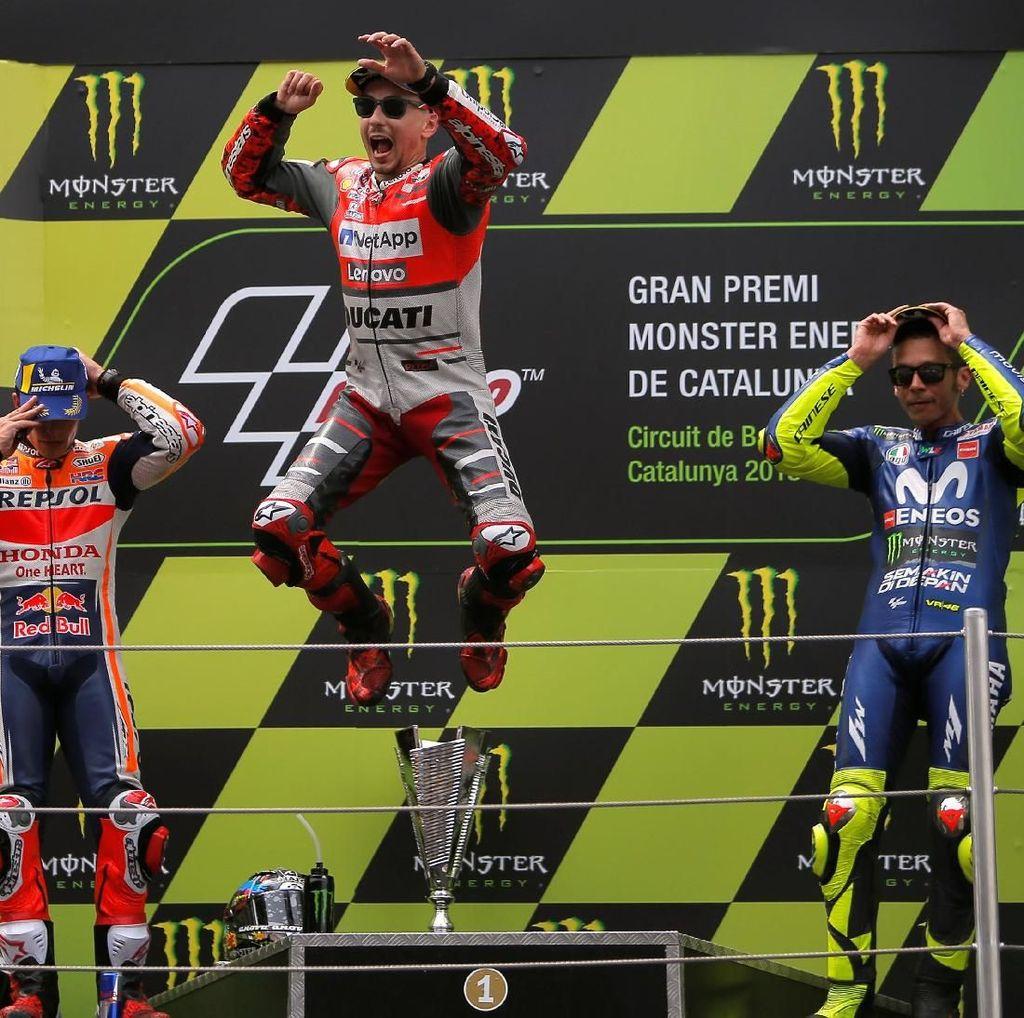 Klasemen MotoGP Usai Kemenangan Lorenzo di Catalunya