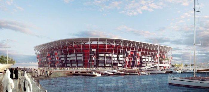 Stadion yang dibangun untuk ajang pesta olahraga di suatu negara biasanya akan sepi setelah ajang yang dimaksud selesai. Namun dalam upaya untuk pembangunan yang lebih berkelanjutan, Qatar meluncurkan rencana untuk membangun stadion modular pertama di dunia menjelang Piala Dunia FIFA 2022. Foto: dok. Inhabitat