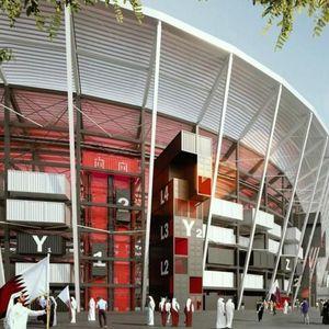 Apa Jadinya Kalau Stadion Dibuat Dari Tumpukan Peti Kemas?