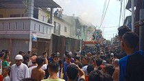 2 Rumah di Makassar Terbakar Saat Ditinggal Mudik Pemiliknya