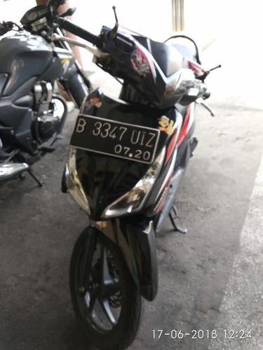 Barang bukti sepeda motor disita polisi