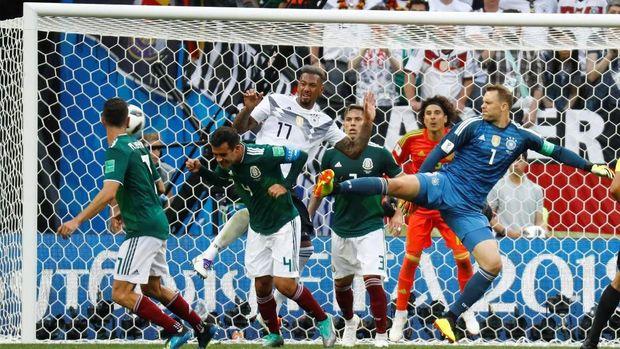 Bermain cepat menjadi kunci permainan timnas Meksiko.