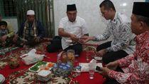 Lebaran, Paslon Eramas Berkunjung ke Ketua MUI Sumut