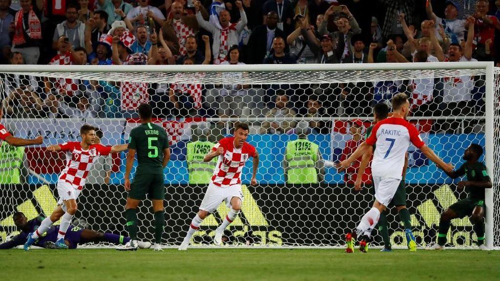 Kroasia Sementara Ungguli Nigeria 1-0 Berkat Gol Bunuh Diri