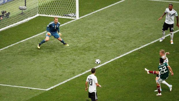 Timnas Jerman kecolongan oleh gol