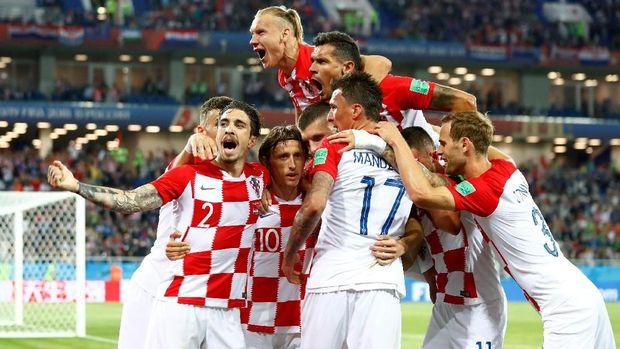 Timnas Kroasia dalam kondisi bagus usai mengalahkan Nigeria 2-0.