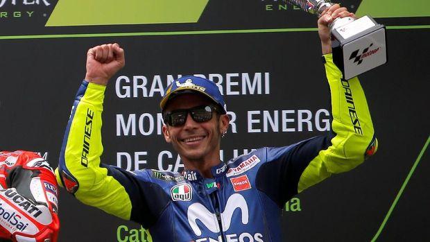 Valentino Rossi meraih tiga kemenangan dalam lima musim terakhir di GP Belanda.