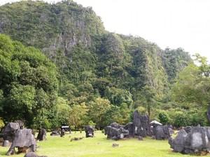 Taman Prasejarah di Sulawesi Selatan Secantik Ini