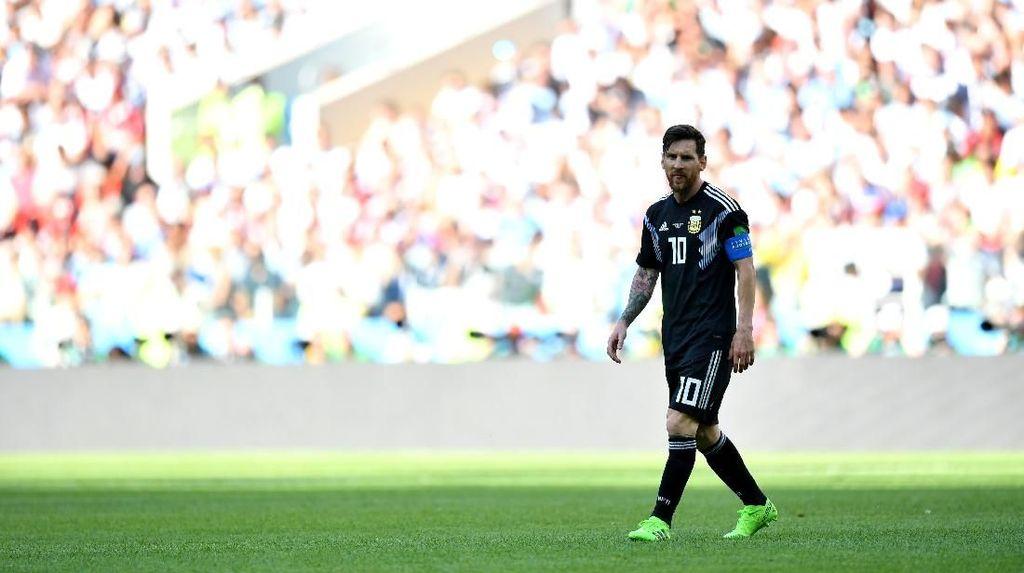 Argentina Jangan Terbebani Hasil Seri Lawan Islandia