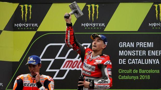 Jorge Lorenzo akan berada satu tim dengan Marc Marquez di Honda pada musim balap 2019.