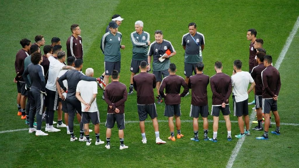 Hadapi Jerman, Meksiko Ingin Kemenangan